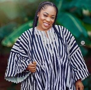 Ghanaian actress, Moesha Bodoung