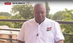 John Mahama is hoping to enter the Jubilee House again on December 7, 2020