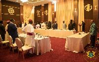 President Akufo-Addo hosted some Christian religious leaders on Thursday