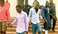 The 'lucky' suspects were granted GH¢200,000 bail each, with two sureties to be justified