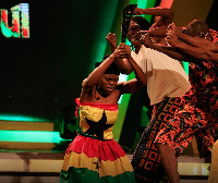 Some contestants performing at the GMB 2020 Final