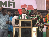 Sammy Gyamfi (C), National Communication Officer Hopeful, NDC.