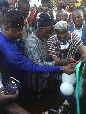 The water projects were handed over to the two communities on on Tuesday, 25th August, 2020