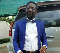 A renowned Film Director cum Producer, Rev. Samuel Kwesi Nyamekye