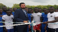 Ceremonial opening of the new academy