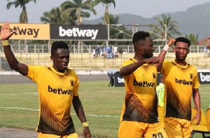 Ashantigold S.C won their game after losing 3 consecutive ones