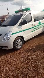 Abu Jinapor donates Ambulance to Busunu Community
