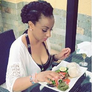 Mrs Asamoah Gyan is known on Instagram as Bosschic