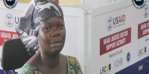 Adofowaa Faustina was defrauded by a policeman