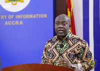 Kojo Oppong Nkrumah, Minister of Information