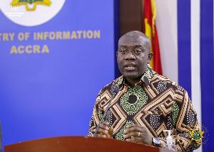 Kojo Oppong-Nkrumah is minister for Information