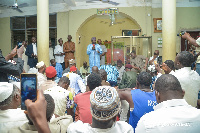 Dr Mahamudu Bawumia was addressing Muslims community during his tour to the Volta Region