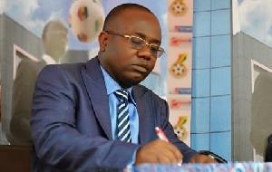 GFA President, Kwesi Nyantakyi is determined to reorganize the Association