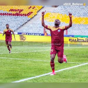 Ghanaian forward, John Antwi