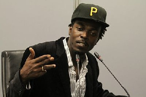 Rapper and boss of Mad Time Entertainment, Kwaw Kesse