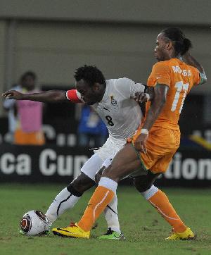 Afr2010 Civ Stars Drogba And Essien