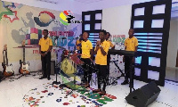 The audition train hits Takoradi in the Western Region on Tuesday