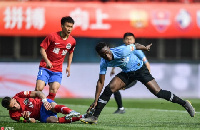 Emmanuel Boateng bagged a brace for Dalian