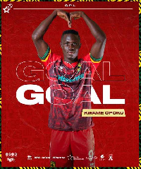 Asante Kotoko striker, Kwame Opoku