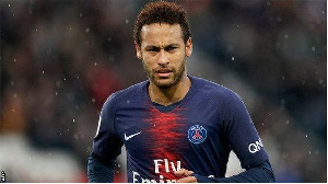 Dan kwallon PSG Neymar
