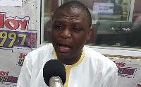 National Organizer of the NDC, Kofi Adams