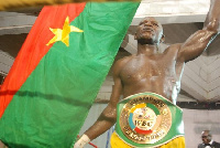 Burkinabe fighter Patrice Sou Toke says he is not ready to lose to Issah Samir