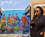 Meet the Ghanaian creative behind the beautiful murals celebrating historic women