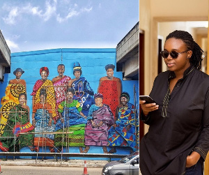 Ghanaian artist, Josephine Ngminvielu Kuuire