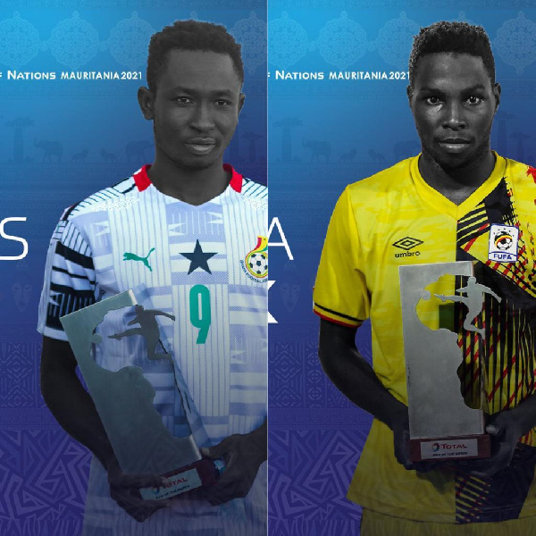 U-20 Cup of Nations: Boah, Kakooza in race for golden boot award