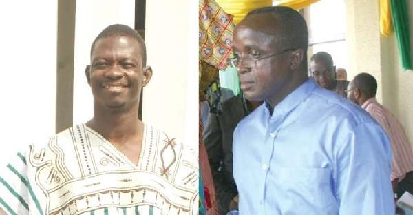 Abuga Pele and Philip Assibit