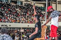 Fancy Gadam filled the 21,000-capacity Tamale Sports Stadium during his album launch last year