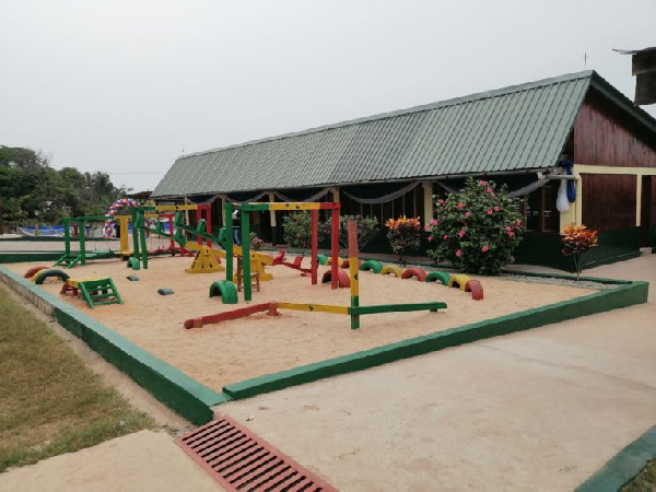 A new sustainable kindergarten project in Punpunie  in Western region by Tullow Ghana