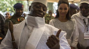 Yahya Jammeh, Ex prez The Gambia