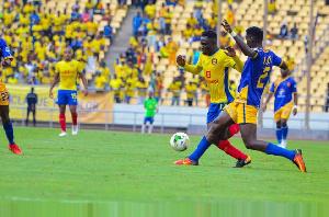 Zakaria Mumuni also started for Congolese powerhouse AS Vita Club