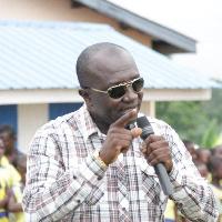 Obuasi MP, Edward Ennin