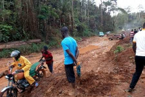 Residents complain over the bad nature of roads
