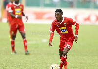 Emmanuel Gyamfi in action for the Porcupines