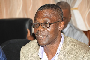 Director of Operations for the NDC, Lt. Col. (Rtd) Larry Gbevlo-Lartey