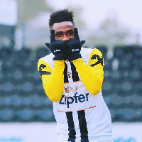 Samuel Tetteh was on target for  LASK Linz