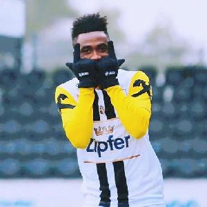 Samuel Tetteh was on target for  LASK Linz