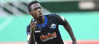 Germany born Ghanaian winger Christopher Antwi-Adjer