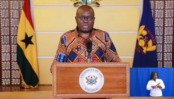 Akufo-Addo to address nation over voters register exercise today