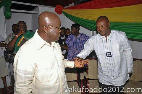 Nana Akufo-Addo and Hassan Ayariga