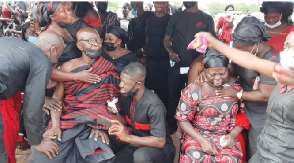 Father of police officer killed in bullion van attack inconsolable at son's funeral. 55