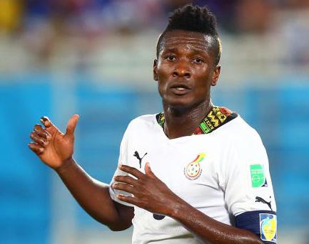 Asamoah Gyan concedes that time is running out for him