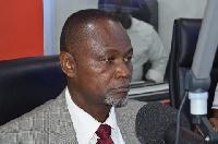 Former MP for La Dadekotopon Constituency, Nii Amasah Namoale