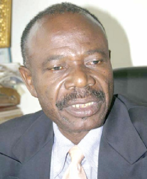 Ghana's High Commissioner to South Africa, George Ayisi Boateng