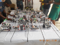 Robots on display