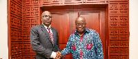 Salou Djibo and President Akufo-Addo