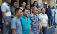 22 culprits, out of the 172 arrested, have been jailed